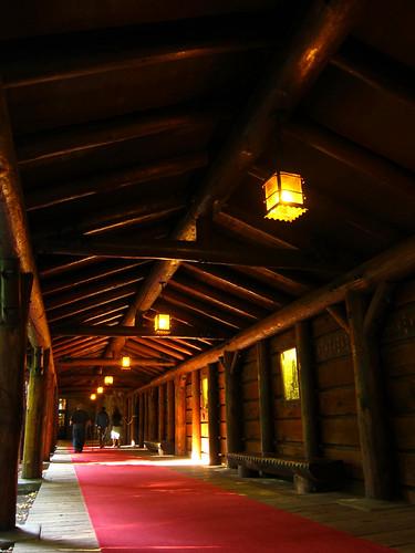 Walkway, The Ahwahnee Hotel