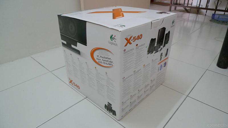 Logitech X-540 - 03