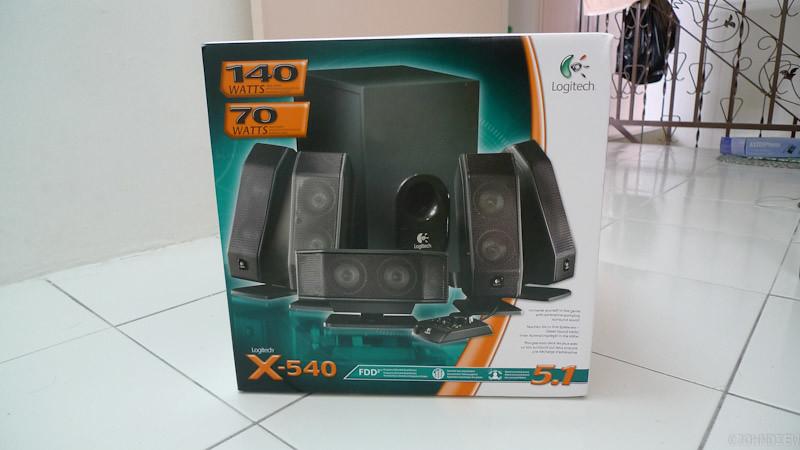 Logitech X-540 - 01