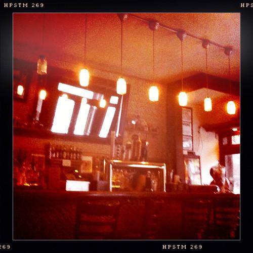 Bar and lights