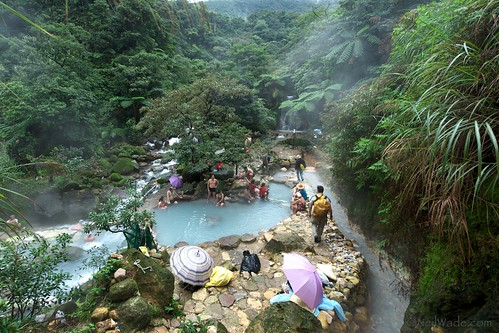 NAtural Hot Springs in Yangming Shan, Taiwan