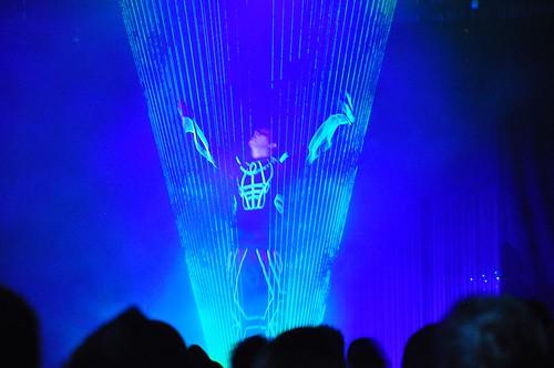 Laserman at ElecTRONica