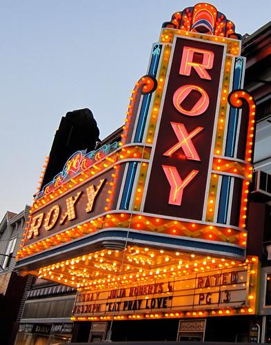 Roxy Theatre Closeup Northampton PA
