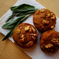 Pumpkin, Sage, and Brown Butter Muffins