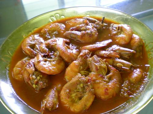 Bandong's assam prawns