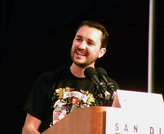 Wil Wheaton (moderator for The Big Bang Theory...