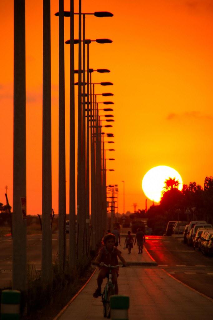 Atardecer en Victoria Playa (Alicante)