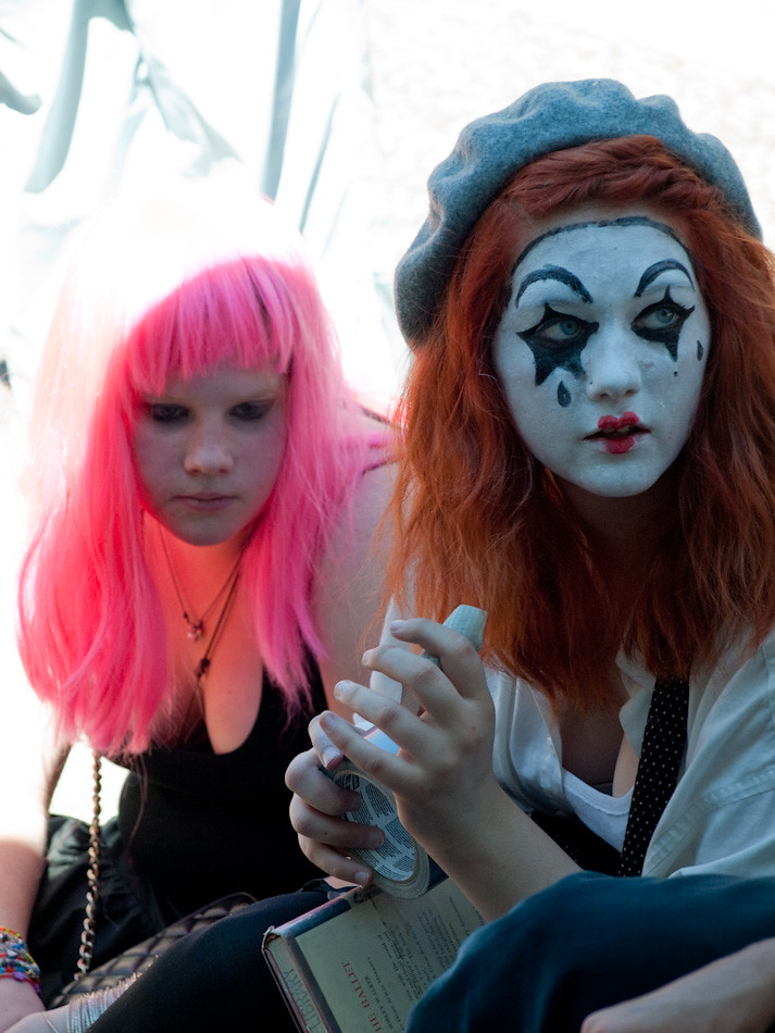 Pink and Mime