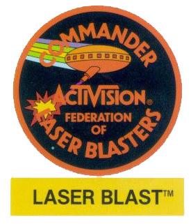 Laser Blast badge