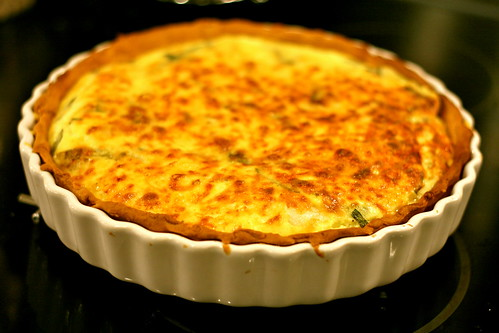spring onion and cheese tart © dan and tuesday