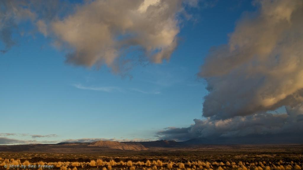 Mauna Loa Parts the Clouds
