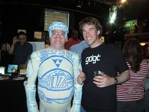 Tron Guy and I
