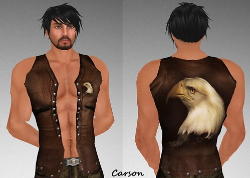 MHOH4 # 83 - !  Roughnecks Brown Eagle Vest