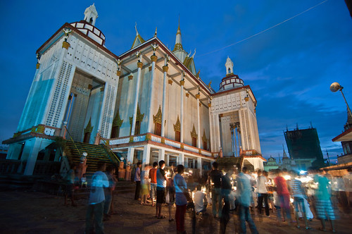 Pchhum Ben Day 3, at Wat Tuol Tompoung