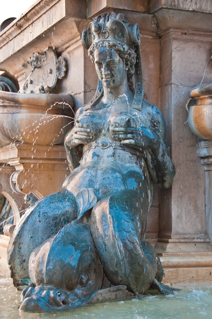 Part of the Fountain of Neptune, Bologna