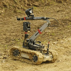 Dragon Runner Bomb Disposal Robot