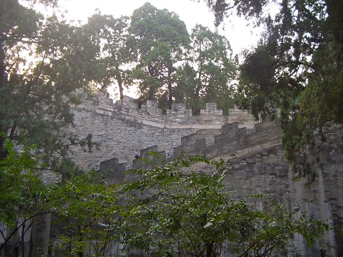 Wall at Ming Tombs