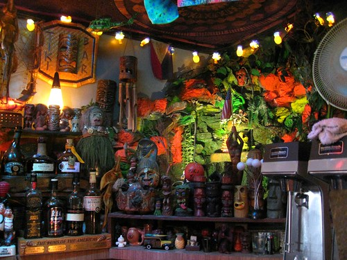 decor at tiki-ti