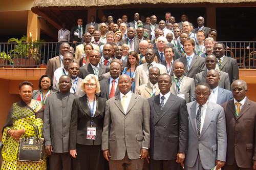 President Museveni of Uganda at EMRC's AgriBusiness Forum 2010
