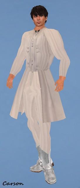 kandy couture White Tux FJH  Duh! White Cowboy Boots ($20L)