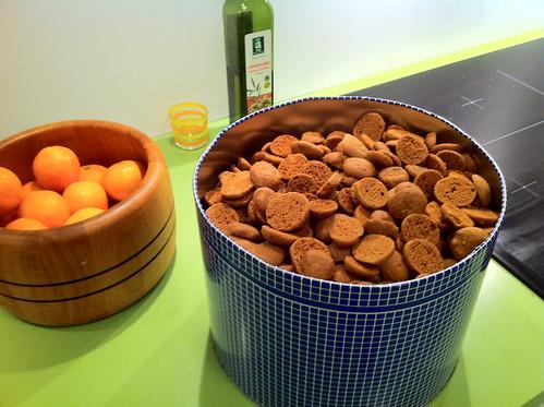 Pebernødder (Danish Xmas cookies)
