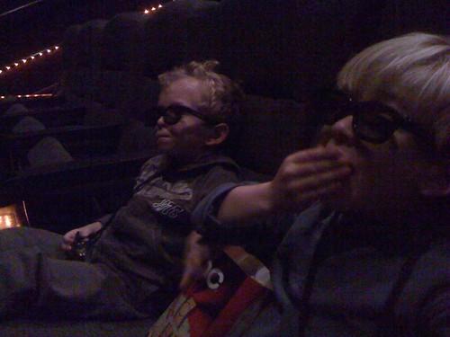 Reuben & Max see a 3D movie