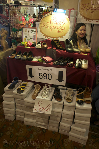 Chilli Margarita Shoes (Global Pinoy Bazaar 2010)