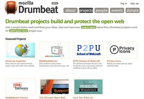 Mozilla drumbeat