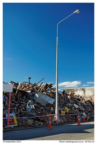 Christchurch earthquake clean up 1