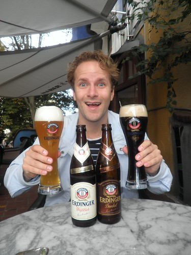 The happiest man in Wien