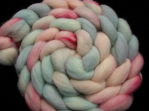 Cotton Candy - Corriedale Hand Dyed Spinning Wool