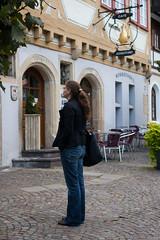 Touristin Anne