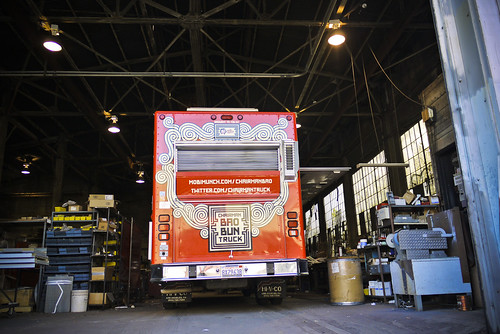 Chairman Bao food truck spotting, SOMA