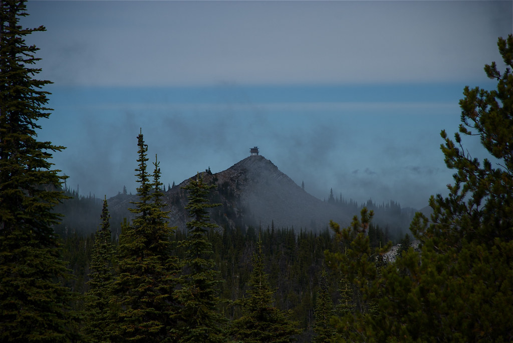 Eddy Mountain lookout