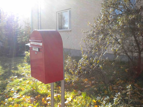red letter box