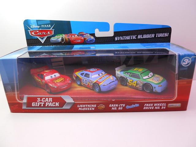 DISNEY CARS RUBBER TIRE RACER 3 PACK K MART (1)
