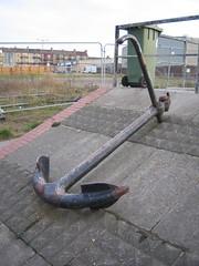 Anchor that was at Redcar Baths