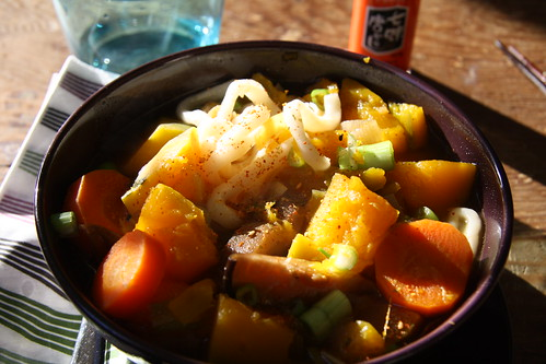 Kabocha-Udon Winter Stew