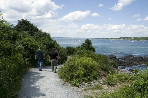 Coast path.