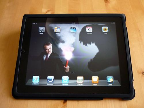 Sam Neill en mi iPad