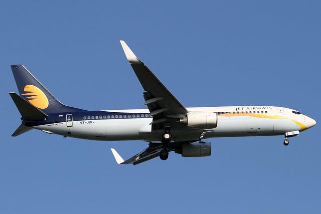 Jet Airways B737-800(VT-JBG)