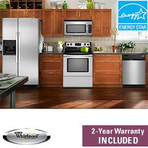whirlpool appliance set