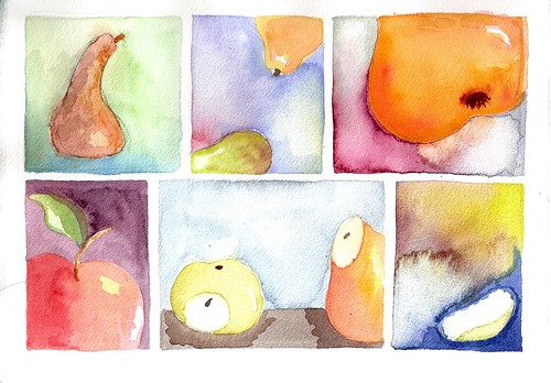 Fruit Slices painting