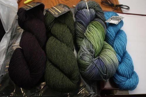 Sept 22 yarn haul