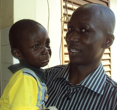 Oumar and Crying Child