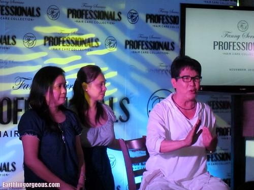 Fanny Serrano and business partners