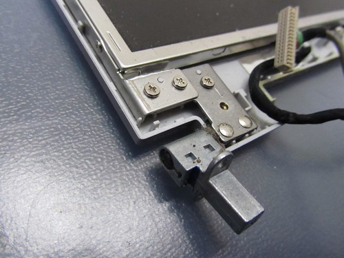 One of the sceen hinges