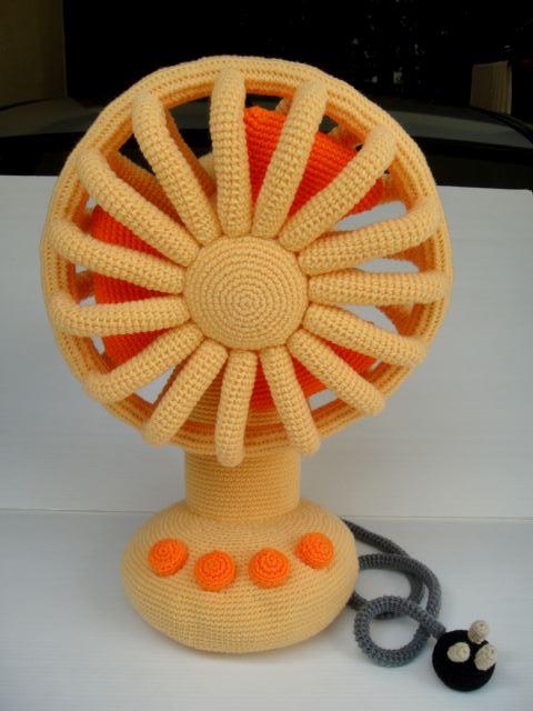 Crochet Vintage Fan