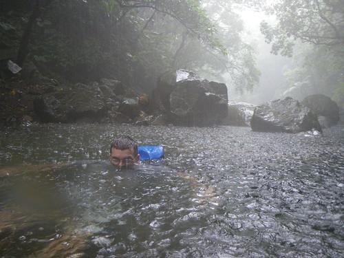 Stu heavy rain river trace