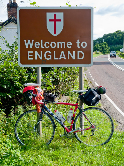 The English Border!